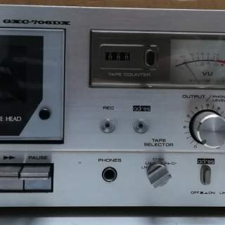 AKAI GXC-706DX Setero Cassette Deck